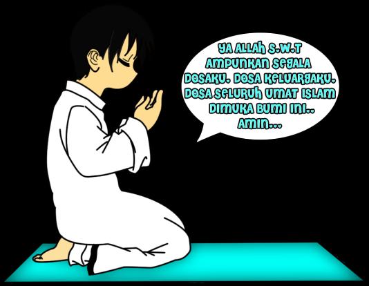 lelaki berdoa